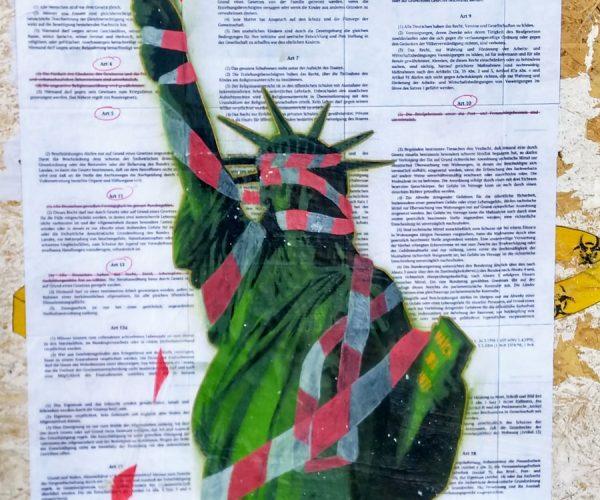 Liberty Suspended Poster/2020/Hamburg, Germany